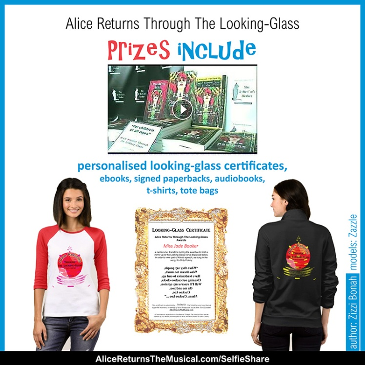 Alice Returns Through The Looking-Glass prizes include ...