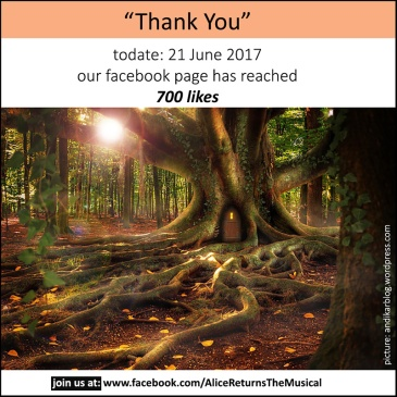 thank you message for 700 facebook page likes